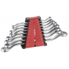 8pc 45 Degree Offset Ring Wrench Set (mm)