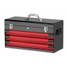 Glory Red & Black 3 Drawer Top Chest