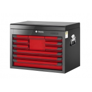 Glory Red & Black 10 Drawer Top Chest