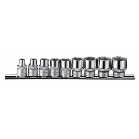 "9pc 3/8""dr. 6pt. Flank Socket Set (sae)"