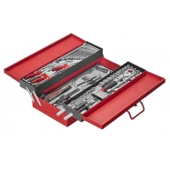 3 Tier Tool Chest With 76pcs Tools