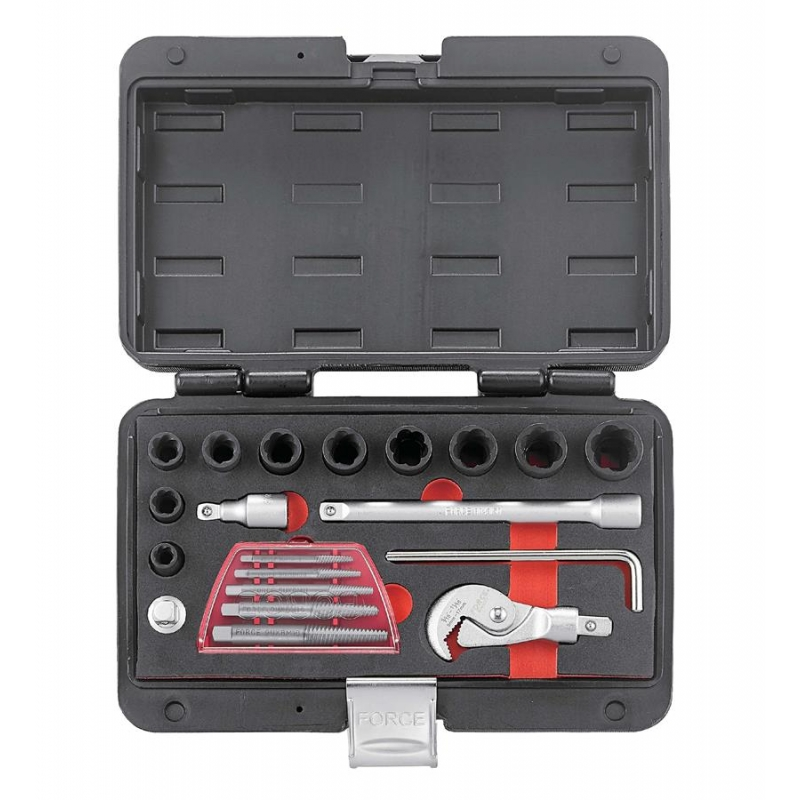 Bolts & Rounded Fasteners Extractor Set