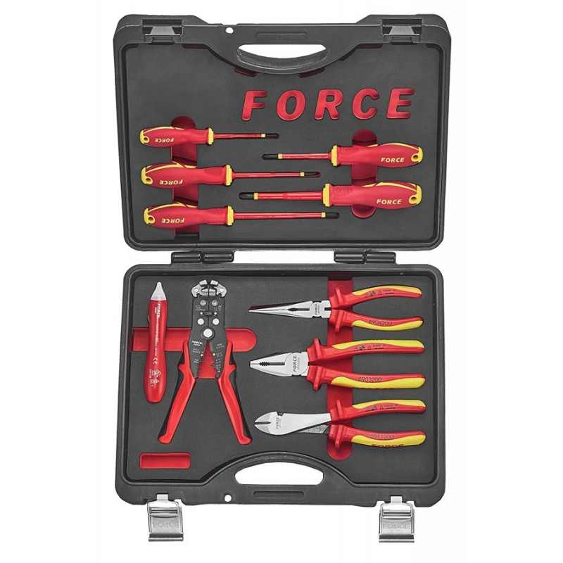 10pc Insulated Pliers And Screwdriver Set